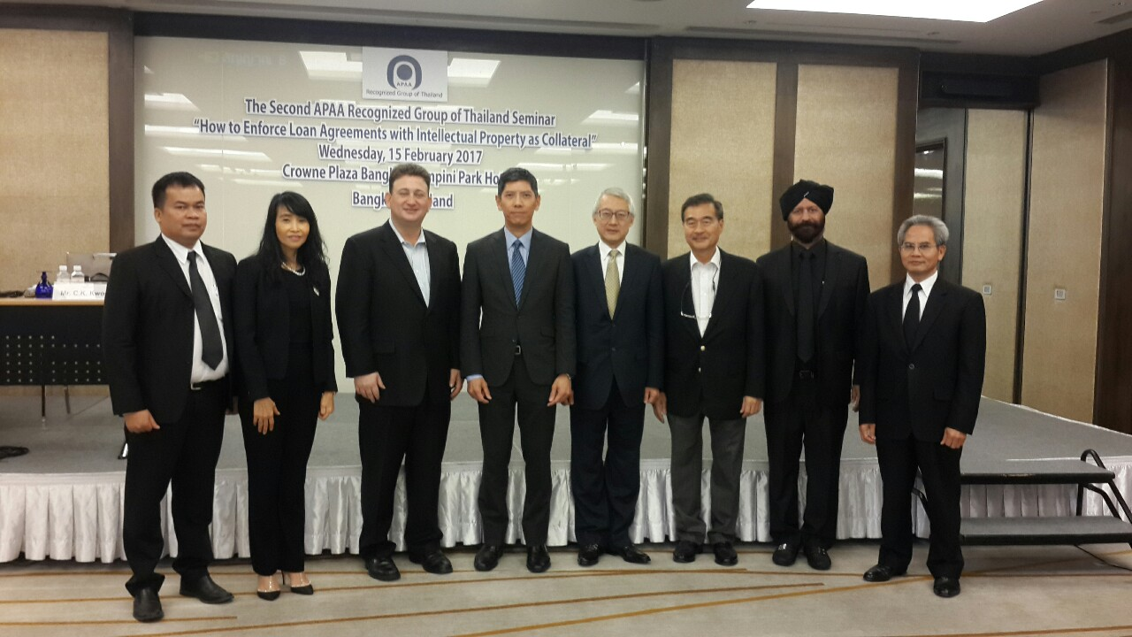 Second seminar of apaa recognized group of Thailand 1