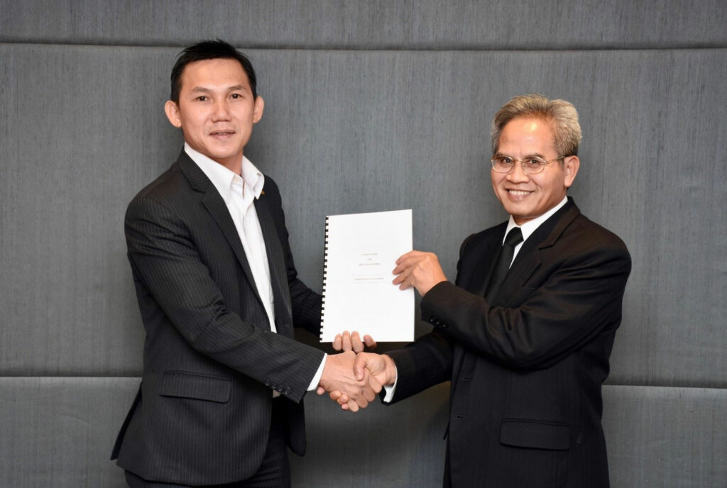 PLF ASSOCIATES AGREEMENT WITH THE TOP TIER LAW FIRM IN THAILAND & MYANMAR 1