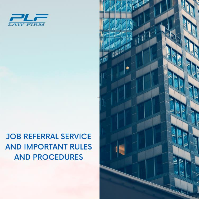 Job Referral Service And Important Rules And Procedures
