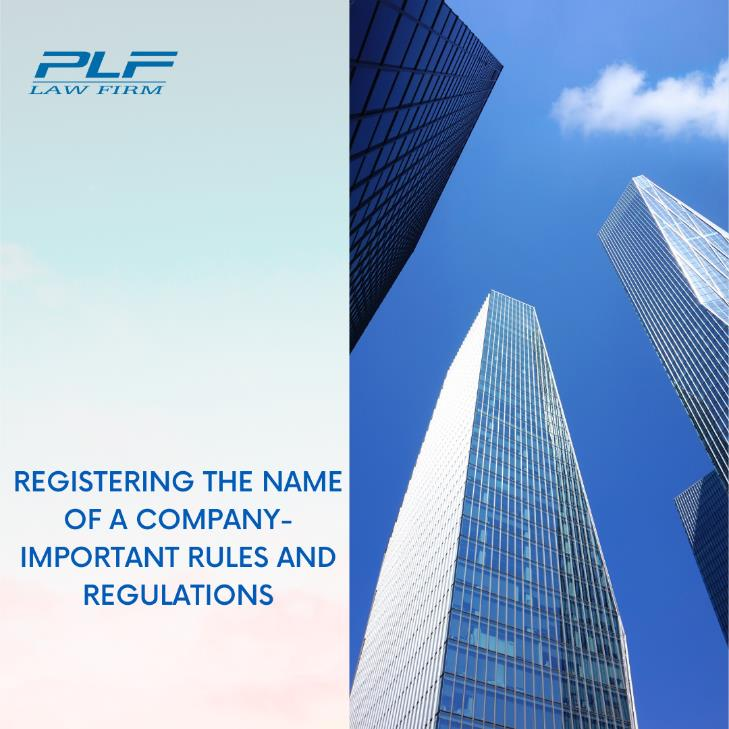 Registering The Name Of A Company – Important Rules And Regulations