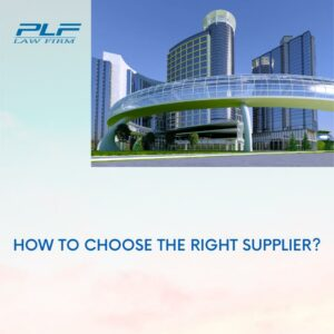 How To Choose The Right Supplier?