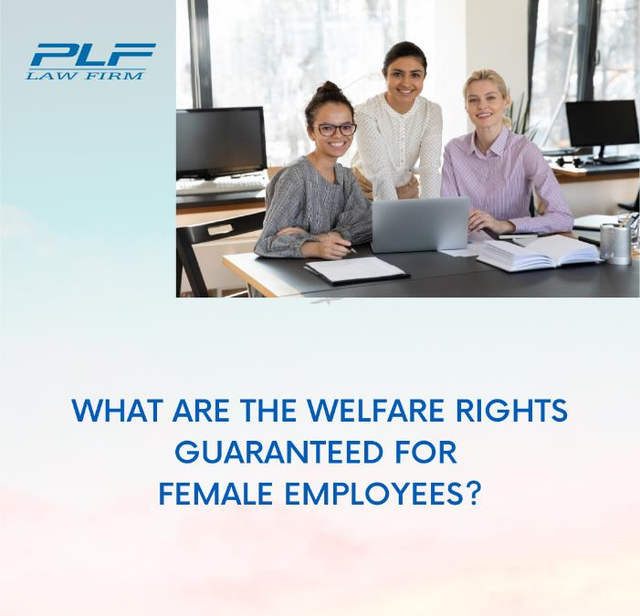 What Are The Welfare Rights Guaranteed Forfemale Employees